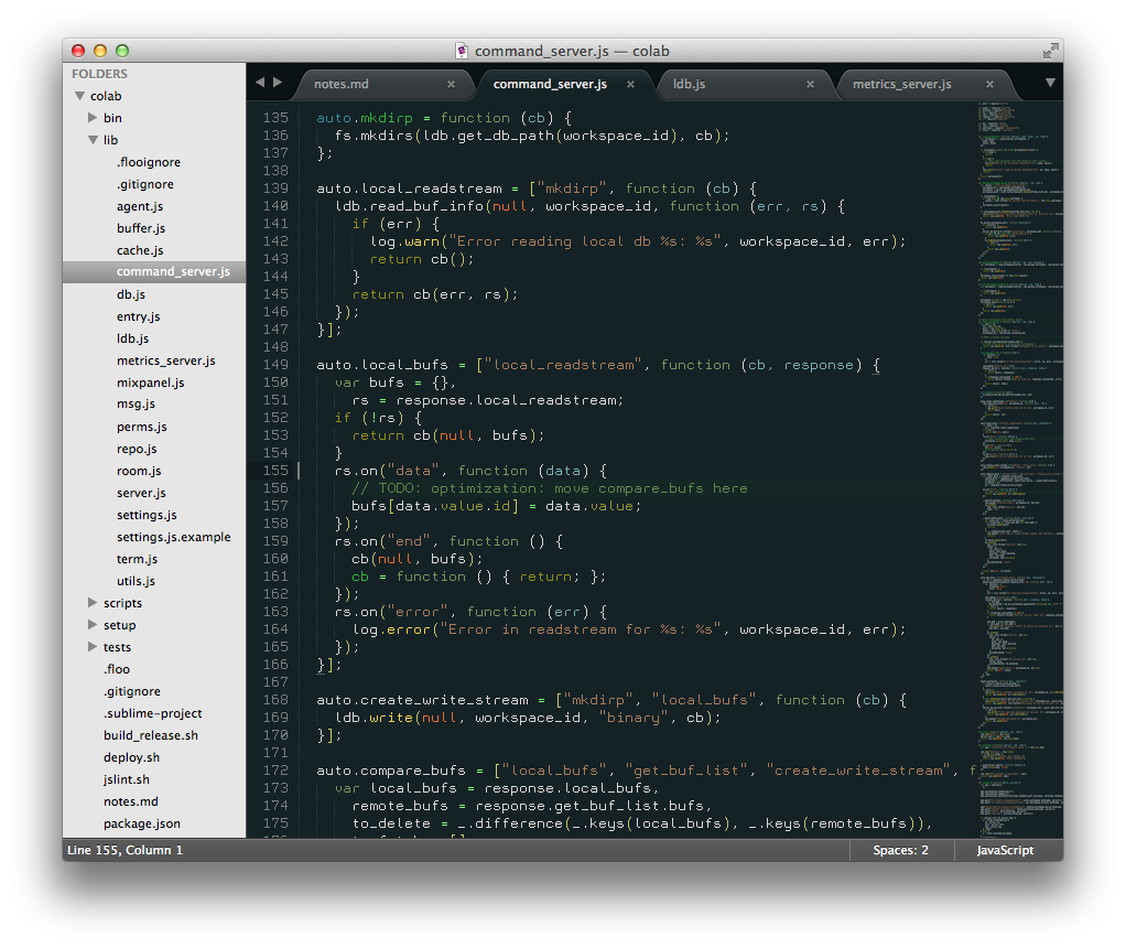Crisp in Sublime Text