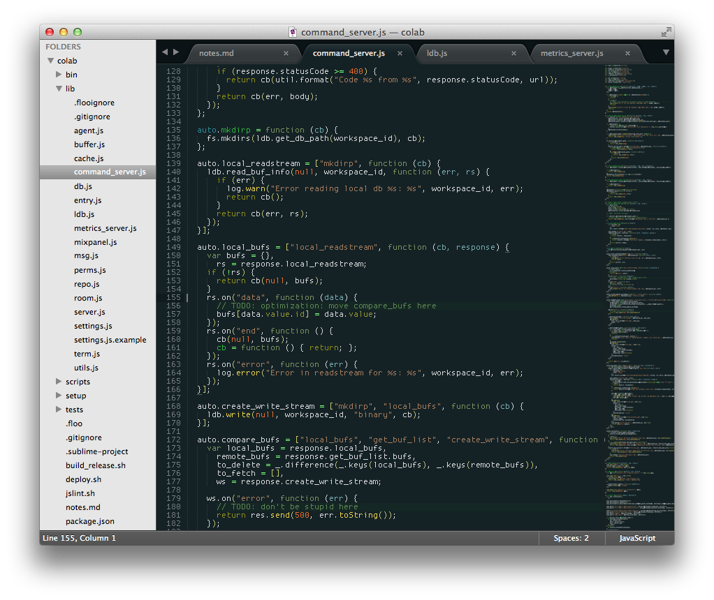ProggyTiny in Sublime Text