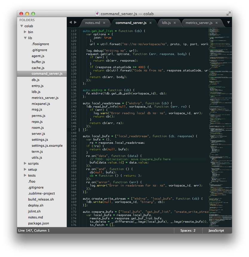 Proggy Tiny in Sublime Text