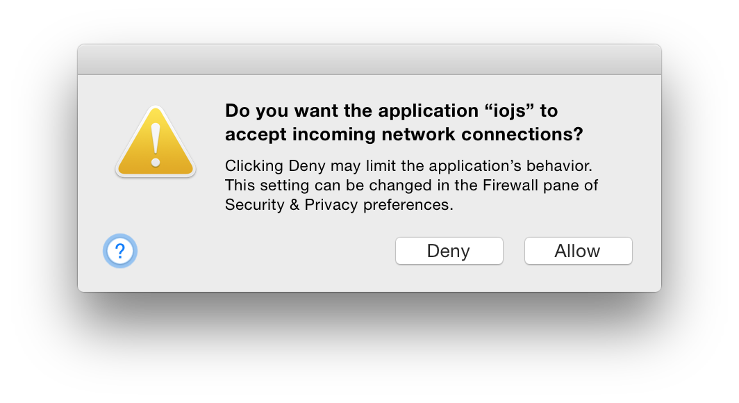 Confused So Was I Why Would Os X Keep Prompting For An Allowed Program Needed To Get Work Done So Rather Than Understand The Problem